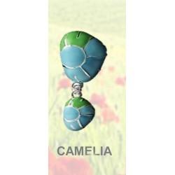 Pendiente Camellia