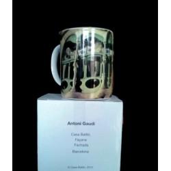 Taza ceramica Casa Batlló,...